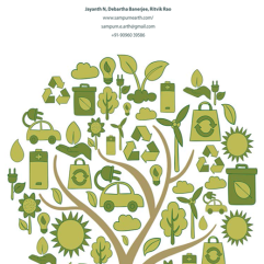 Annual report cover 'Sampurn-earth'